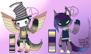 Anthro assassin adopts [CLOSED] by SomeRandomAdopt