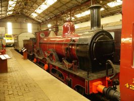 Midland Railway 156 Class 2-4-0, 158A by The-Transport-Guild