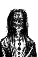 Zombie Grin by WretchedSpawn2012