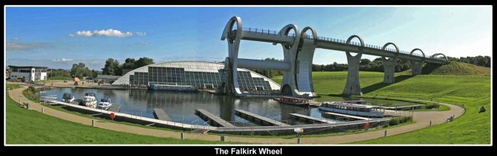 The Falkirk Wheel by SnapperRod