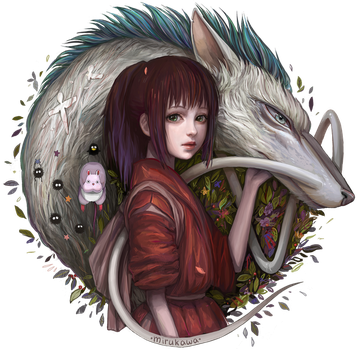 Spirited away by mirukawa