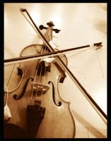 The Violin IV by Inosa
