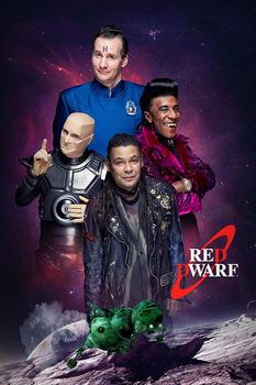 Red Dwarf Poster by PZNS
