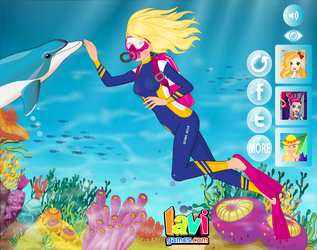 Barbie Scuba Diving by Lavigames