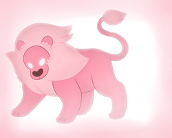 Steven's Lion by ShidatheUmbreon