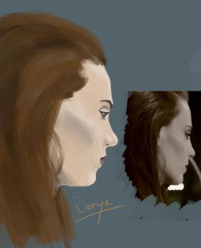 Test Brushes Epica Simone Simons by NaryaWelkin