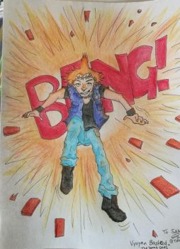 Gift: Vyvyan Basterd (The Young Ones) by cometpunk