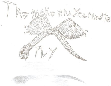 The Snake Who Yearned To Fly by QweXTheXEccentric
