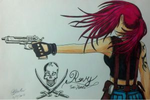 Revy 'Two-hands' by Panzer-13