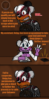 Interrogation (FNAF 6 Comic) Pt.2 by Blustreakgirl