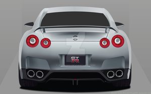 Nissan GTR by Andy202
