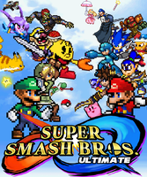 Super Smash Bros Ultimate Poster. by DrizzlyScroll1996