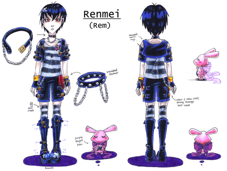 Rem ref sheet by NasikaSakura