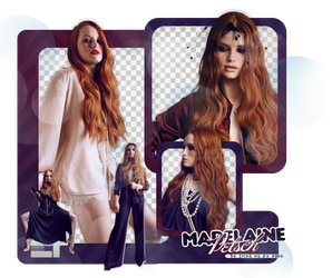 PACK PNG 388 // MADELAINE PETSCH by ELISION-PNGS