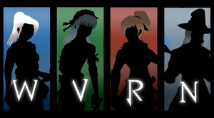 Team WVRN Silhouette Version by CHE3ZY