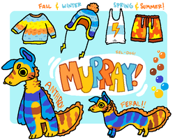 Contest entry - Murray the Eel Dog. by P00CHYENA