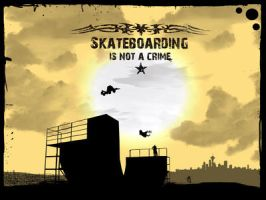 Sk8boarding_Is_Not_A_Crime_ by huana