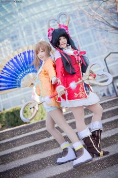 Dynasty Warriors 8: Fan Sisters by LostDonut