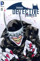 The Batman Who Laughs sketch cover by mdavidct