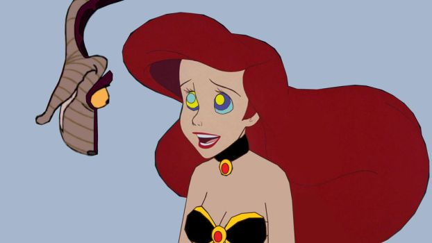 Slave Ariel Loves Mistress Kaa by hypnotica2002