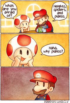 Mario - Haha Why by kata-009