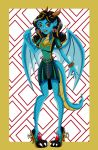 Azure Ladon Gift Monster High by Jade-the-Tiger