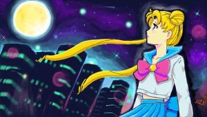 Sailor Super Moon by NIN-Neko