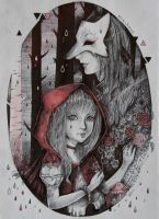 little red riding hood by mirukawa