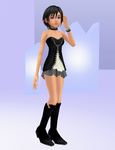 Xion (black rose) DL by Reseliee