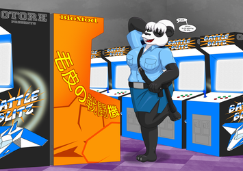 Fur Fighters - China - Arcade by RunningToaster
