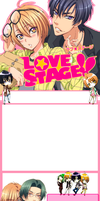 Love Stage journal skin by Gizzia801