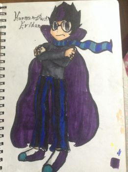 Human stuck eridan  by IssyInked