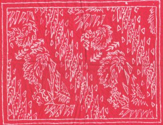 Sukarno's Batik Reconstructed by quicchote