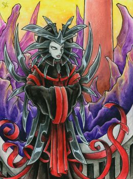 The Lady of Pain - Planescape by Merinid-DE