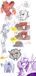 TFP dump. Popsicle licking warning. by tesazombie