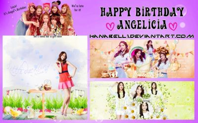[Pack] Happy Birthday Angelicia by HanaBell1