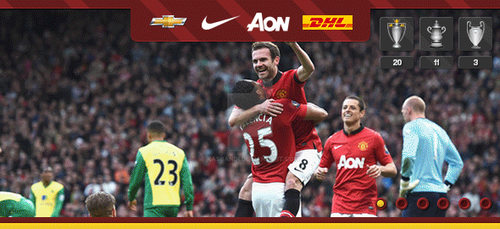Manchester United GIF Banner by kasbandi