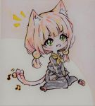 Chibi Neko Girl [Colored Version] by SophieSeraph