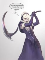 Death Vigil Fan art by Lestowitel