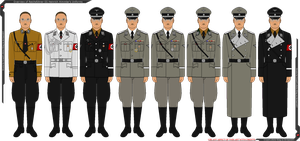 Overview of Heinrich Himmler's Uniforms by Grand-Lobster-King