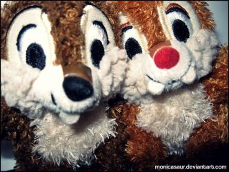 Chip and Dale by monicasaur