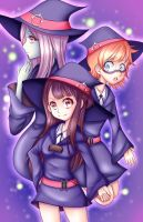 Little Witch Academia by kittymochi