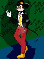 Mickey Mouse Kpop  by CrimsonGlow
