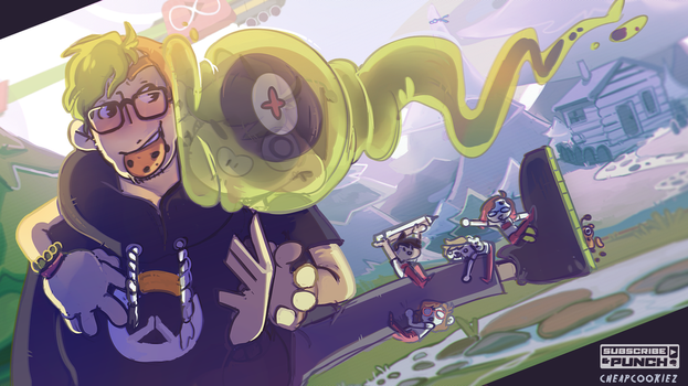 Jackaboy- SepticArt by Cheapcookie