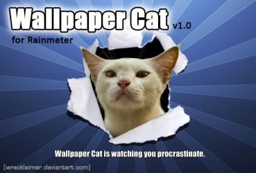 Wallpaper Cat by Wrecklaimer