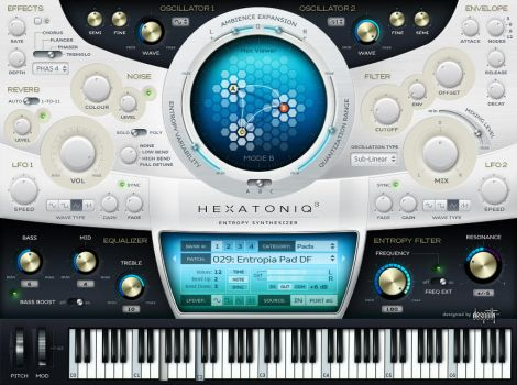 VST GUI for Hexatoniq by lakmus
