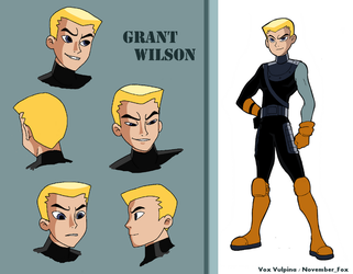 Animated Teen Titans: Grant Wilson by VoxVulpina