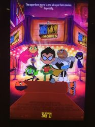 Teen Titans go to the movies review by montrain101