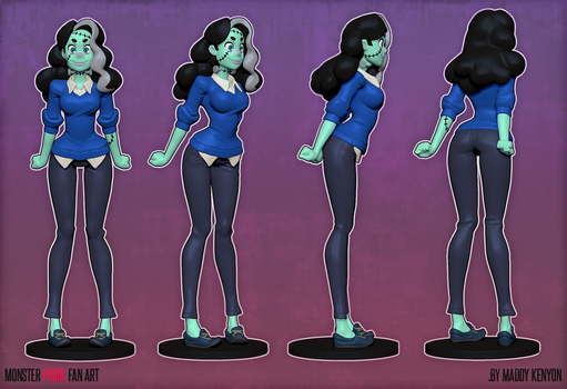 Vicky from Monster Prom 01 by MissMaddyTaylor