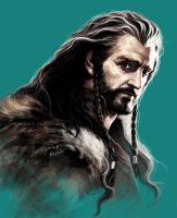 Thorin, coloring study by evankart